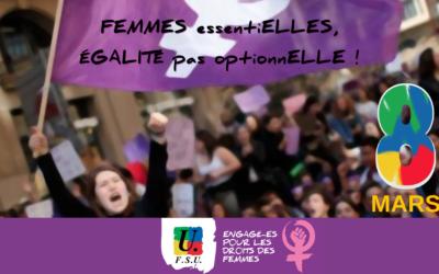 8 mars : journée internationale de la lutte pour les droits de la femme